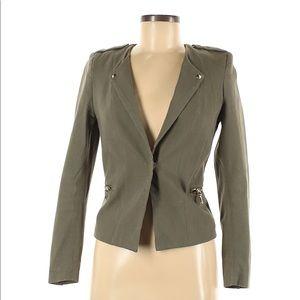 H&M. Military green blazer. 2.
